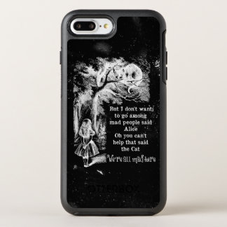 Alice in Wonderland; Cheshire Cat with Alice OtterBox Symmetry iPhone 8 Plus/7 Plus Case