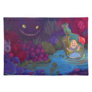 Alice in Wonderland Cloth Placemat