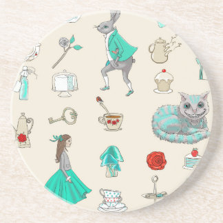Alice in wonderland coaster