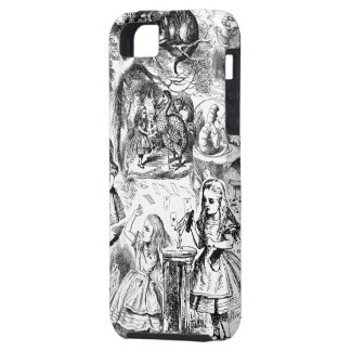 Alice in Wonderland Collage Case For The iPhone 5