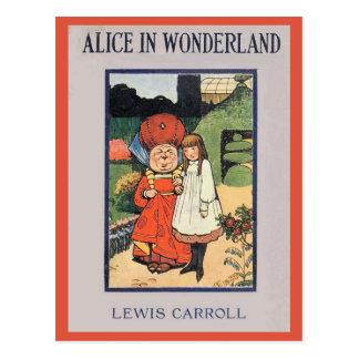 Alice in Wonderland Cover Postcard