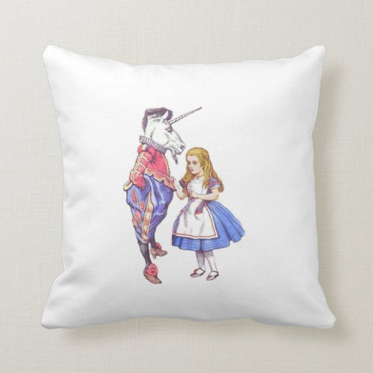 Alice in Wonderland cushion