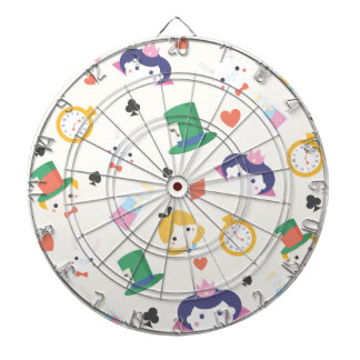 Alice in Wonderland Dartboard