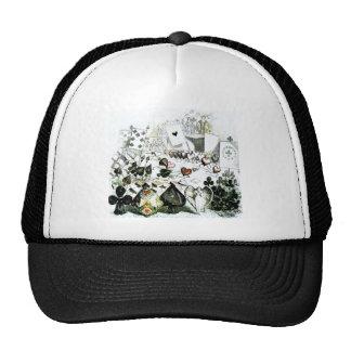 Alice in Wonderland Deck of Cards Trucker Hat