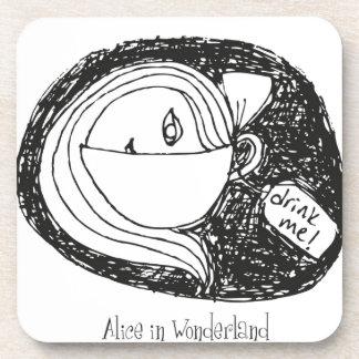 Alice In Wonderland Drink Coasters