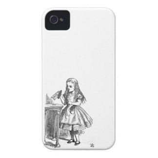 Alice in Wonderland Drink Me vintage goth print iPhone 4 Cover
