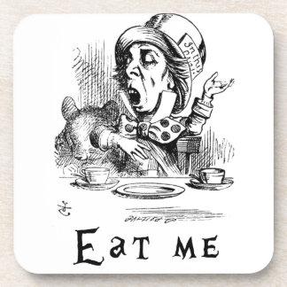 Alice in Wonderland - Eat me Beverage Coaster