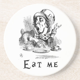 Alice in Wonderland - Eat me Coaster
