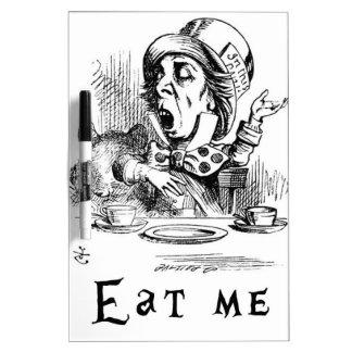 Alice in Wonderland - Eat me Dry Erase Board