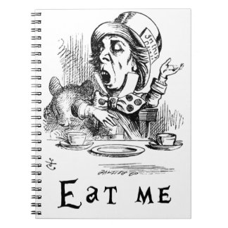 Alice in Wonderland - Eat me Notebooks