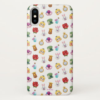 Alice In Wonderland Emoji  Pattern Case-Mate iPhone Case