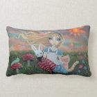 Alice in Wonderland Fairytale Fantasy Art Pillow