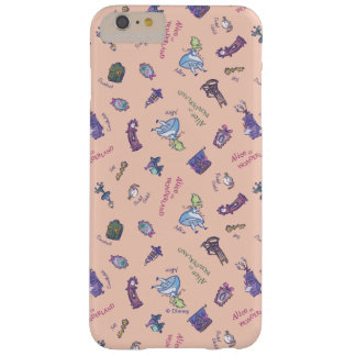 Alice In Wonderland | Falling Down Pattern Barely There iPhone 6 Plus Case