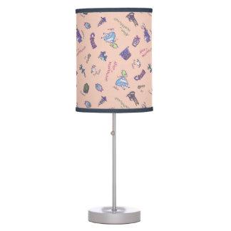 Alice In Wonderland | Falling Down Pattern Desk Lamps