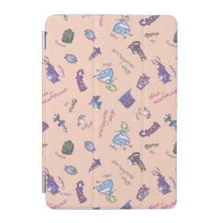 Alice In Wonderland | Falling Down Pattern iPad Mini Cover