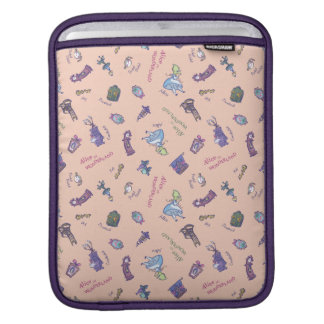 Alice In Wonderland | Falling Down Pattern iPad Sleeve