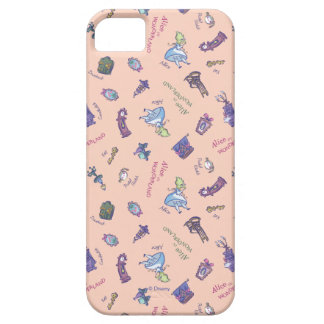 Alice In Wonderland | Falling Down Pattern iPhone 5 Cases