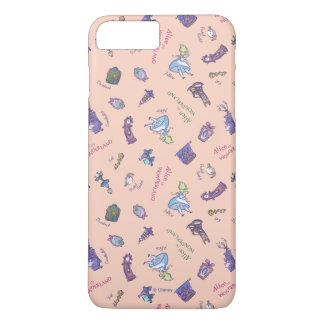 Alice In Wonderland | Falling Down Pattern iPhone 7 Plus Case