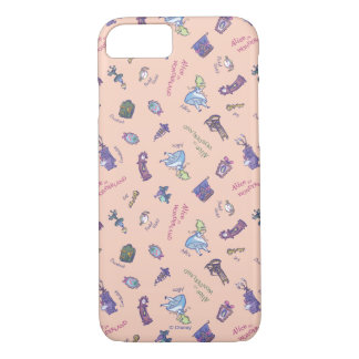 Alice In Wonderland | Falling Down Pattern iPhone 8/7 Case