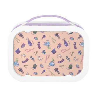 Alice In Wonderland | Falling Down Pattern Lunch Box