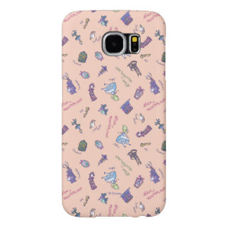 Alice In Wonderland | Falling Down Pattern Samsung Galaxy S6 Cases