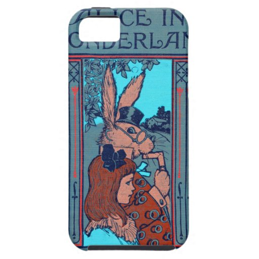 Alice In Wonderland Featuring 'The Rabbit' iPhone 5 Cases