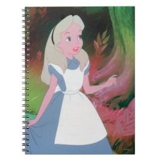 Alice in Wonderland Film Still 1 Spiral Notebook