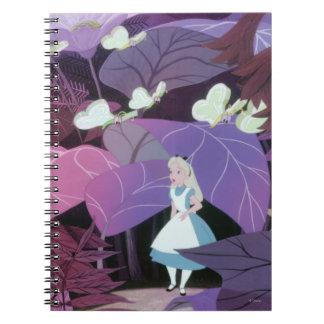Alice in Wonderland Film Still 2 Spiral Notebook