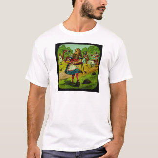Alice in Wonderland Flamingo Croquet T-Shirt