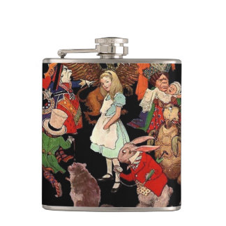 Alice in Wonderland Flask