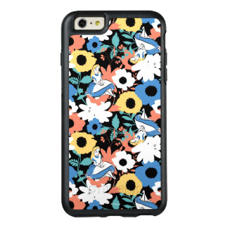 Alice in Wonderland Floral Retro Pattern OtterBox iPhone 6/6s Plus Case