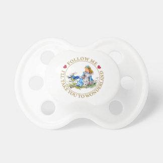 Alice In Wonderland - Follow Me Baby Pacifier