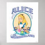 Alice in Wonderland - Frame Poster