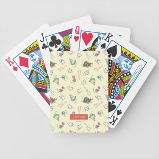 Alice In Wonderland & Friends | Add Your Name Bicycle Playing Cards