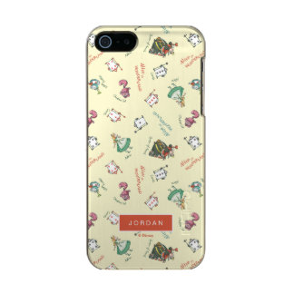 Alice In Wonderland & Friends | Add Your Name Incipio Feather® Shine iPhone 5 Case