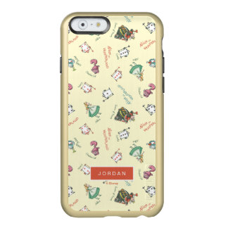 Alice In Wonderland & Friends | Add Your Name Incipio Feather® Shine iPhone 6 Case