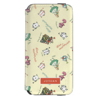Alice In Wonderland & Friends | Add Your Name Incipio Watson™ iPhone 6 Wallet Case