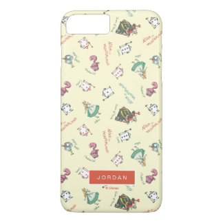 Alice In Wonderland & Friends | Add Your Name iPhone 7 Plus Case