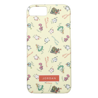 Alice In Wonderland & Friends | Add Your Name iPhone 8/7 Case