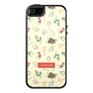 Alice In Wonderland & Friends | Add Your Name OtterBox iPhone 5/5s/SE Case