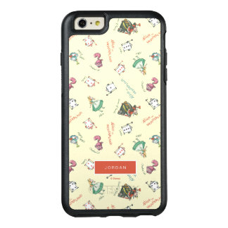 Alice In Wonderland & Friends | Add Your Name OtterBox iPhone 6/6s Plus Case