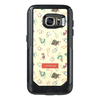 Alice In Wonderland & Friends | Add Your Name OtterBox Samsung Galaxy S7 Case