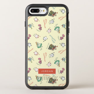 Alice In Wonderland & Friends | Add Your Name OtterBox Symmetry iPhone 8 Plus/7 Plus Case