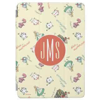 Alice In Wonderland & Friends | Pattern - Monogram iPad Air Cover