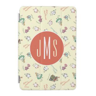 Alice In Wonderland & Friends | Pattern - Monogram iPad Mini Cover