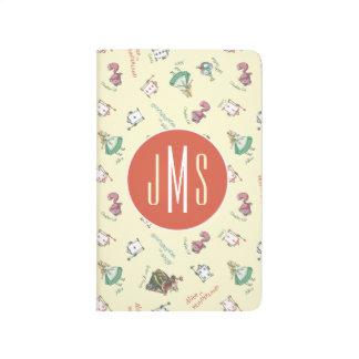 Alice In Wonderland & Friends | Pattern - Monogram Journal