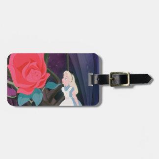 Alice in Wonderland Garden Flower Film Still Luggage Tag