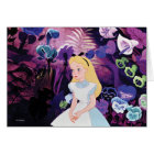 Alice in Wonderland Garden Flowers Film Still Card