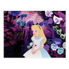 Alice in Wonderland Garden Flowers Film Still Postcard