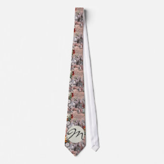 Alice in Wonderland Hatter and Rabbit Tie